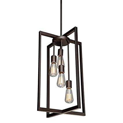 Artcraft Lighting Gastown 4-Light Mini Pendant Oil Rubbed Bronze  sc 1 st  Amazon.com & Artcraft Lighting Gastown 4-Light Mini Pendant Oil Rubbed Bronze ...