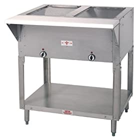 Advance Tabco HF-2E 32″ 2-Well Electric Steam Table | 1000 Watts