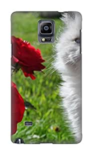 New Fashionable Steverincon Vclisu-428-ucmtxsu Cover Case Specially Made For Galaxy Note 4(animal Cat)