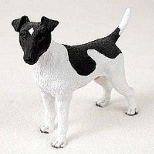 (Conversation Concepts Fox Terrier Black & White Standard Figurine)