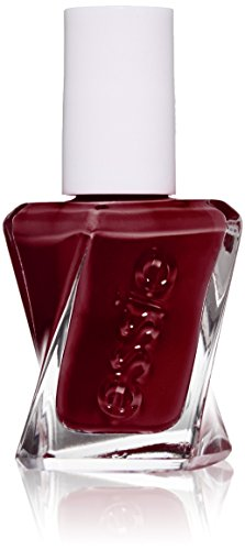 essie gel couture nail polish, spiked with style, deep wine red nail polish, 0.46 fl. ()