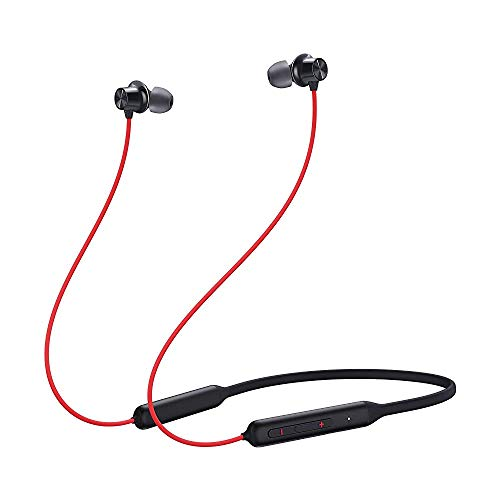 (Renewed) OnePlus Bullets Wireless Z Bass Edition (Reverb Red)