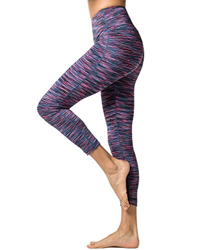 LAPASA Yoga Pants for Women Squat-Proof Sports Leggings High Waist L01