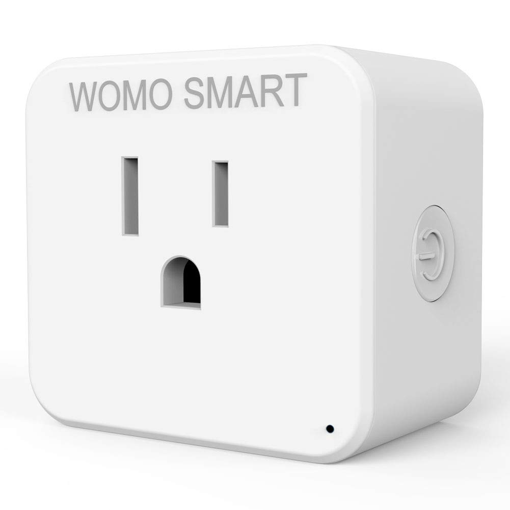 Wifi Smart Plug Alexa Wifi Switch, Timer Wifi Wireless Outlet Plug With Echo Google, Compatible For Smart Home Devices Timer Control Anywhere Anytime, No Hub Needed Without Controller
