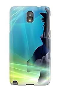Galaxy Note 3 Case Cover Skin : Premium High Quality Sasuke Case