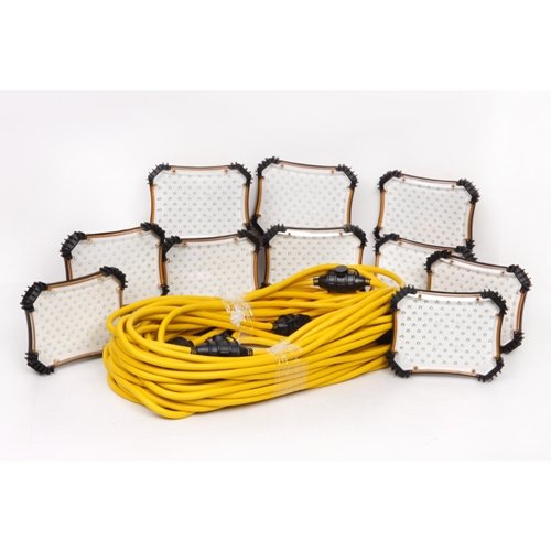 CEP Construction Electrical Products 97132 100-Feet LED Light String with Slide Lock Connection