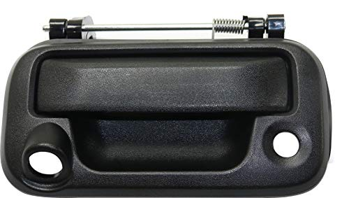 Tailgate Handle Compatible with FORD F-150 2004-2014 / SUPER DUTY 2008-2016 Textured with Camera & Key Holes