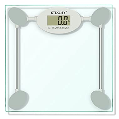 Etekcity Digital Body Weight Scale with Step-on Technology, 400 Pounds