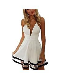 Changeshopping(TM)Sexy Women Lady Summer Party Evening Mini Dress