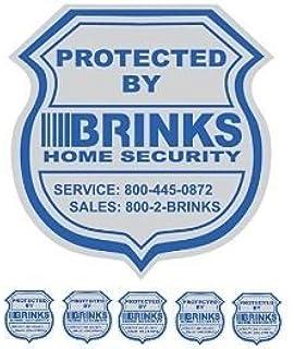 Amazoncom Home Security Stickers Window Door Decals Home - Window stickers for home security