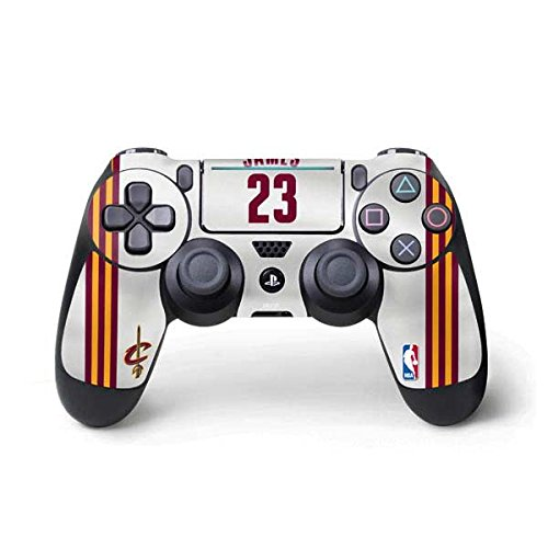 Cleveland Cavaliers PS4 Pro/Slim Controller Skin - LeBron James #23 Cleveland Cavaliers Home Jersey | NBA & Skinit Skin