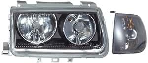 FK-Automotive FKNS6003-1 Powerlook - Faros delanteros, color negro