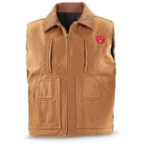 Ruger Concealment Vest Brown Duck