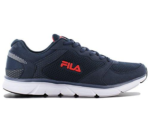 LOW Chaussures Bleu RUN Fila Homme Running De Course OBJECT Zqgwp