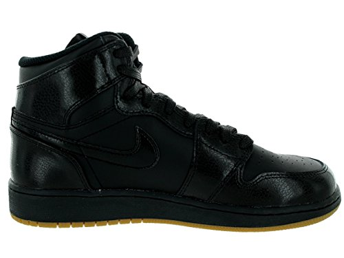 Nike Men's Air Jordan 1 Mid Basketball Shoe Black/Gum Light Brown cheap sale new z0GNWp