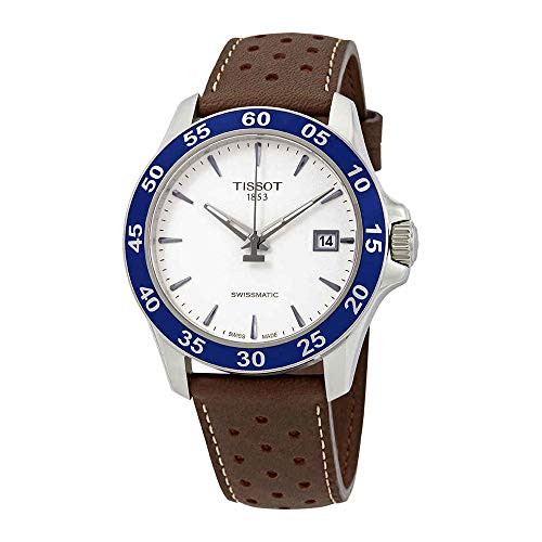 Tissot V8 Automatic Silver Dial Mens Watch T1064071603100