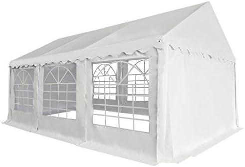 Shengfeng cenador de jardín de PVC 3 x 6 m Bianco. Carpa Plegable Carpa de jardín Carpa Eurolandia Carpa Exterior Carpa Impermeable: Amazon.es: Jardín