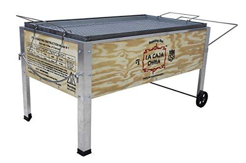 La Caja China Model #1 70 lb Pig Roaster, Medium/70 lb. (Cooking Box Chinese)