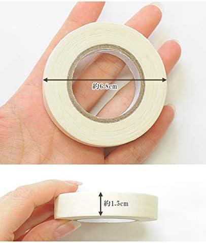 マスキングテープ 15mm幅 約18m巻 (2個)