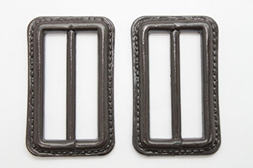 Trimming Shop 2 X 50mm Dark Brown Buckle Replacement Clasp For Repairing Belts Coats Bags And Leather Crafts Fastener Accessory Arts And Crafts Sewing