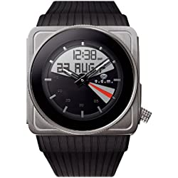 o.d.m Men's SU99-3 3 Touch Analog and Digital Watch