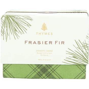 Thymes Frasier Fir 3 Wick Candle 17 oz net wt (480 g)