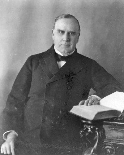 (New 8x10 Photo: William McKinley, 25th President of the US)