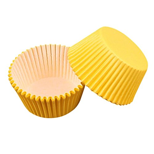 Seamount 100PCS Cake Liners Bread Paper Box Cup Decorator To