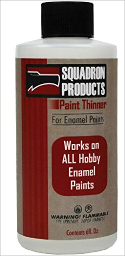 Squadron Products Paint Thinner for Enamel Paints Model Kit,