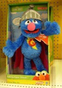 Sesame Street Talking Super -