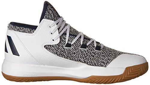 Adidas Soulève Chaussure Basketball Noir Carbone / Utilitaire Noir-blanc