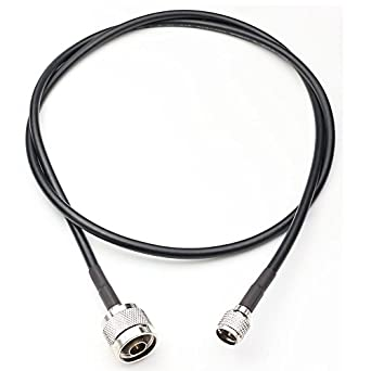 ANHAN Mini UHF Male to N Type Male RG-58 Jumper Extension Pigtail Cable RF Coax coaxial Antenna Cable 3.28 Ft/1M 1Pack: Amazon.com: Industrial & Scientific