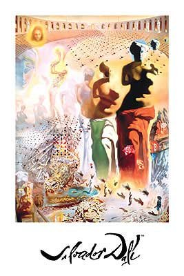 (Salvador Dali - Hallucinogenic Toreador NO LONGER IN PRINT - LAST ONE!!)