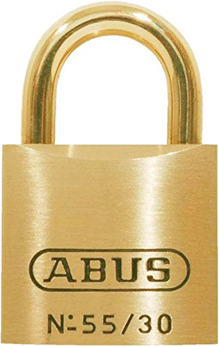 Abus 55//30 30mm Brass Padlock Keyed Alike 5301