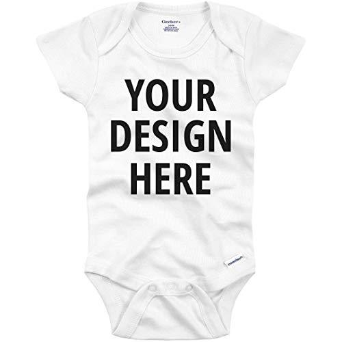 Custom Text Baby Onesie: Infant Gerber Onesie ()