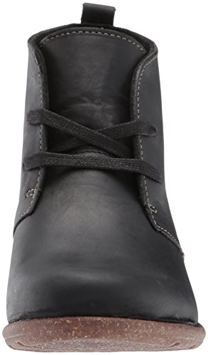 Clarks Womens Wilrose Sage Ankle Bootie, Black, 9 W US