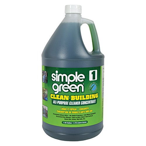(Simple Green 11001CT Clean Building All-Purpose Cleaner Concentrate, 1gal Bottle (Case of 2))