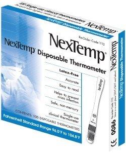 NexTemp Disposable Thermometer ( THERMOMETER, NEXTEMP, CELSIUS ) 2000 Each / Case