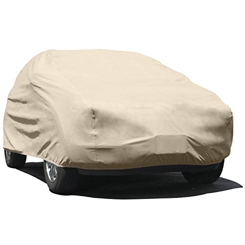 Budge UA-1 Protector IV Cover Fits Medium SUVs up to 186 inches (4 Layers, Tan)
