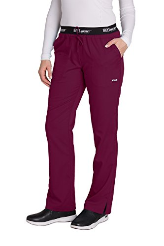Grey's Anatomy Active 3-Pocket Pant for Women – Modern Fit Medical Scrub Pant