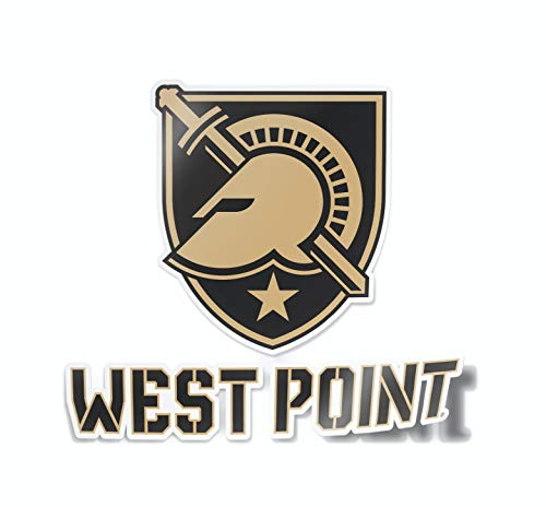 Nudge Printing Collegiate Car Decal Sticker (West Point)