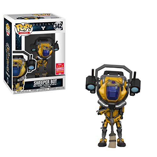 Funko Pop Destiny Sweeper Bot Summer Convention Exclusive Figure