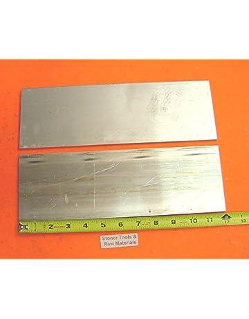 "4 Pieces 1//2/"" X 1/"" ALUMINUM 6061 FLAT BAR 12/"" long T6511 .500/"" Plate Mill Stock"