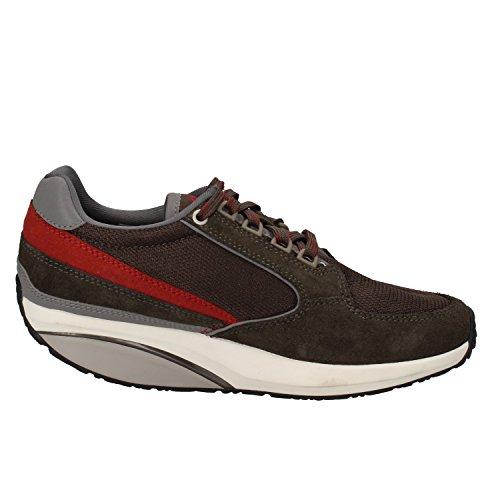 MBT Sneakers Damen 37 EU Grün Textil Wildleder
