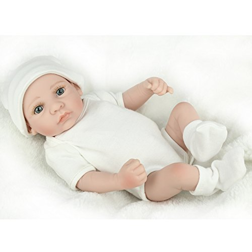 Kaydora 10 inches Mini Full Silicone Vinyl Washable - Reborn Doll Body