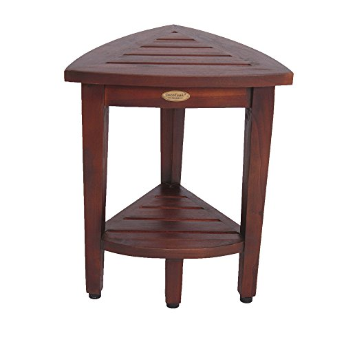 Mahogany Table Rattan (Decoteak Oasis Shower Bench, Brown)