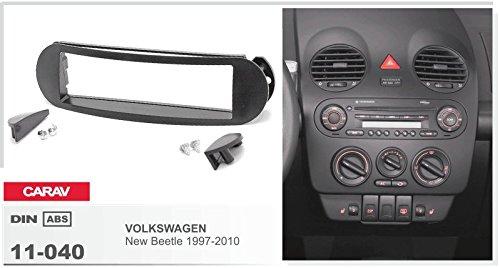 CarAV 11-040-25-7 Kit dinstallation de fa/çade dautoradio 1-DIN pour VW New Beetle de/1997-2010/+/c/âble adaptateur ISO et antenne