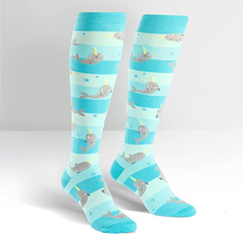 Sock It To Me, Knee-High: Unicorn of the Sea -