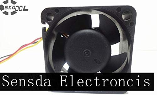 SXDOOL A4020B12UD-A 4020 4cm 40mm DC 12V 0.2A 3Wire 8500RPM Cooling Fan