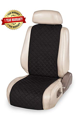 IVICY Car Seat Cover Protector Cushion, Car Seat Protector - Car Seat Cushion, Premium Covers for Women, Men, Girls, Boys - Fits Most Cars, Truck, SUV, or Van - 1-pc